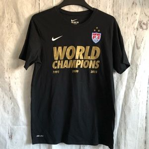 The Nike Tee World Champions 2015 Soccer